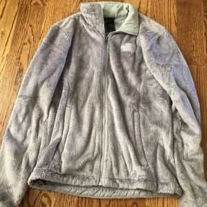 Grey North Face Osito Jakcet